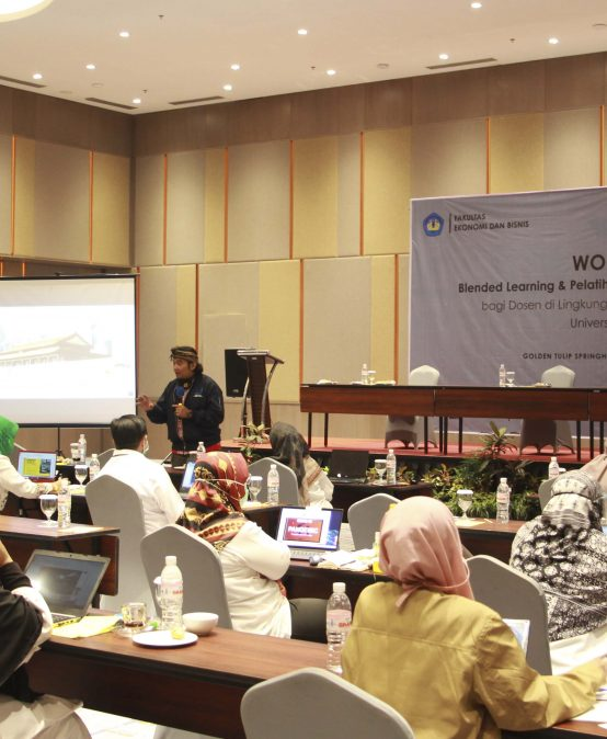 FEB Unila Selenggarakan Workshop Pembelajaran Daring